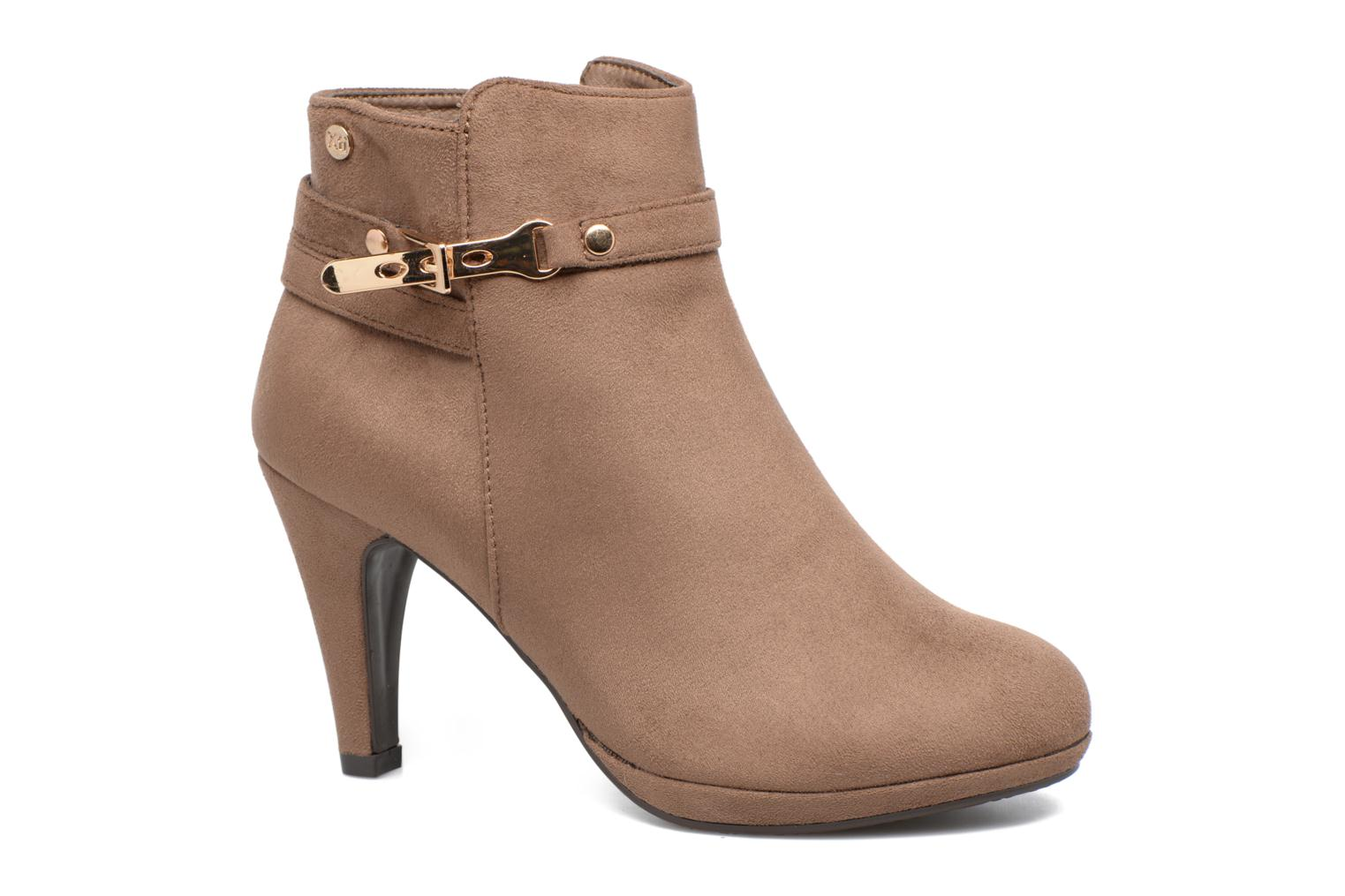 Ankle boots Xti Poppy-46013 Brown detailed view/ Pair view