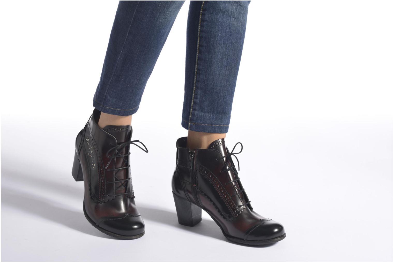 Stiefeletten & Boots Dkode Becca schwarz ansicht von unten / tasche getragen