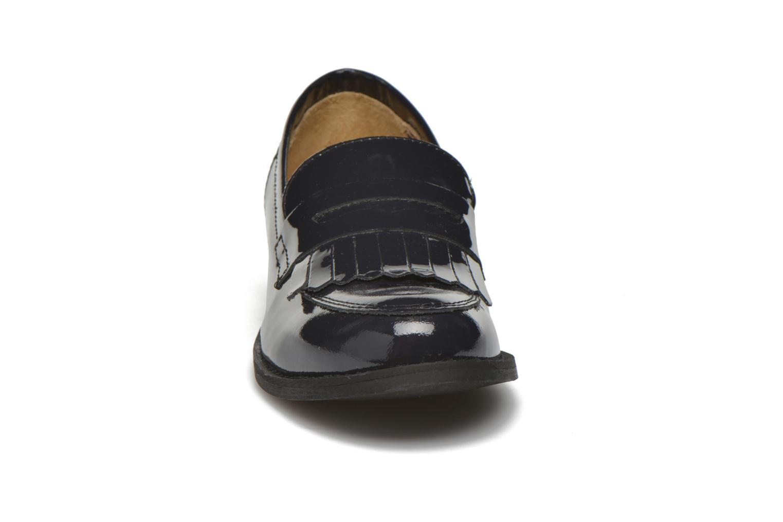 Mocassins Georgia Rose Mamoc Bleu vue portées chaussures