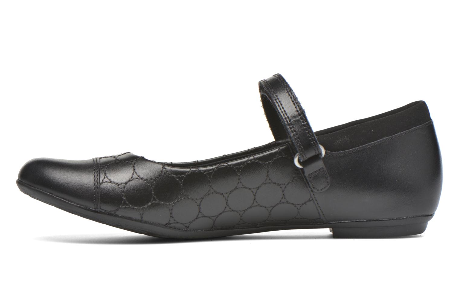 Tizz Whizz BL Black leather