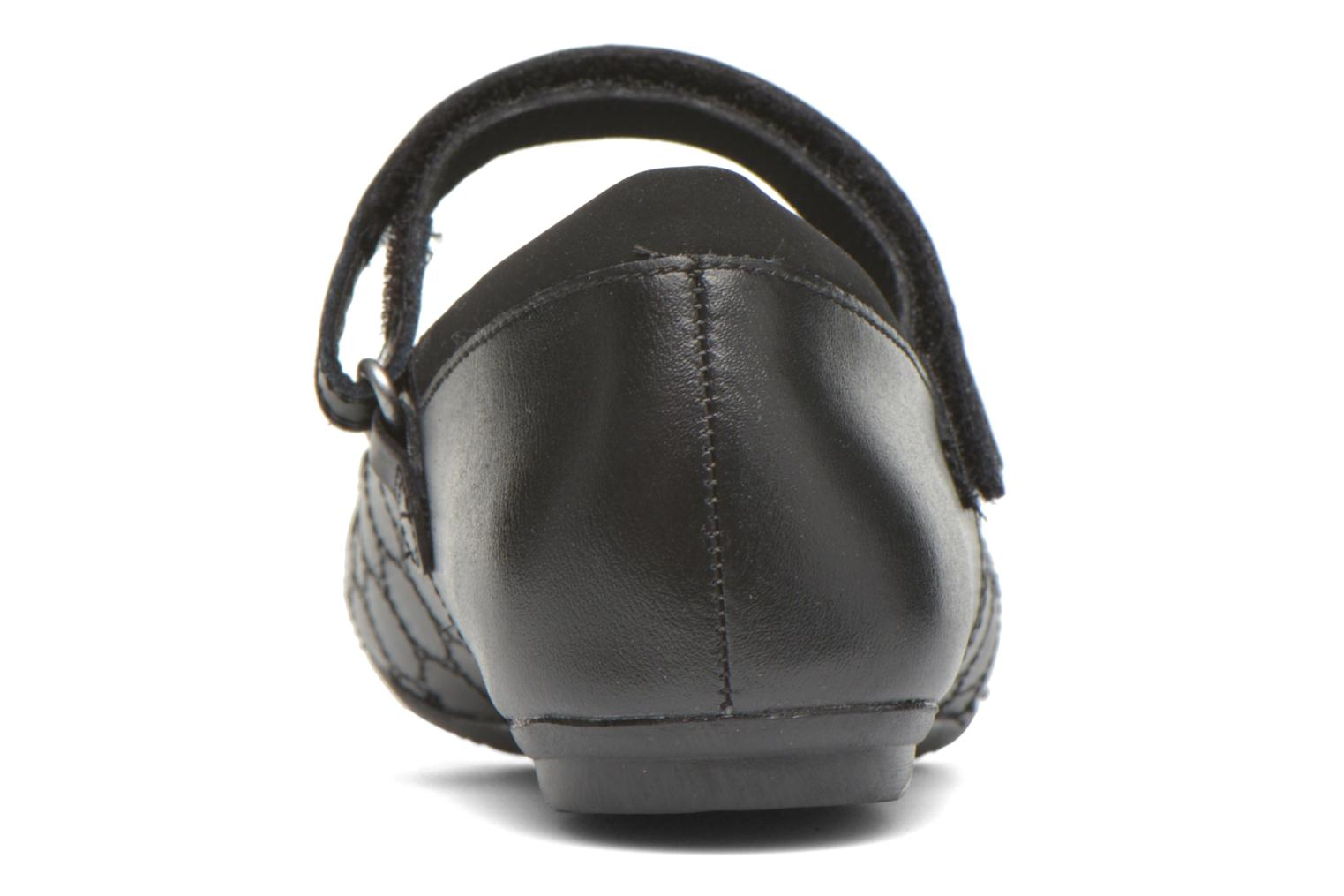 Ballet pumps Clarks Tizz Whizz BL Black view from the right