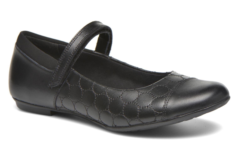 Ballerinaer Clarks Tizz Whizz BL Sort detaljeret billede af skoene