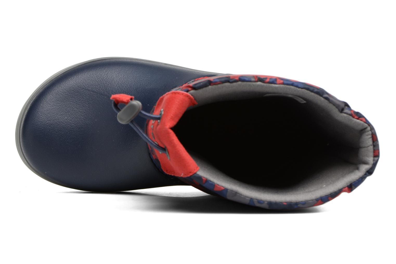 Bottes Crocs Crocband Lodgepoint Graphic K Bleu vue gauche
