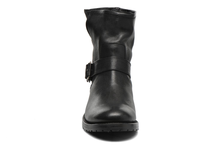 Bottines et boots Frye Natalie Short Engineer Noir vue portées chaussures
