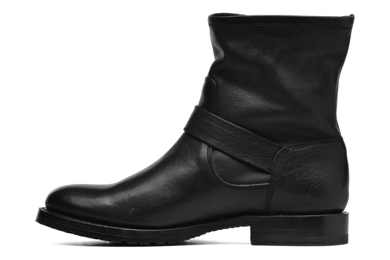 Bottines et boots Frye Natalie Short Engineer Noir vue face