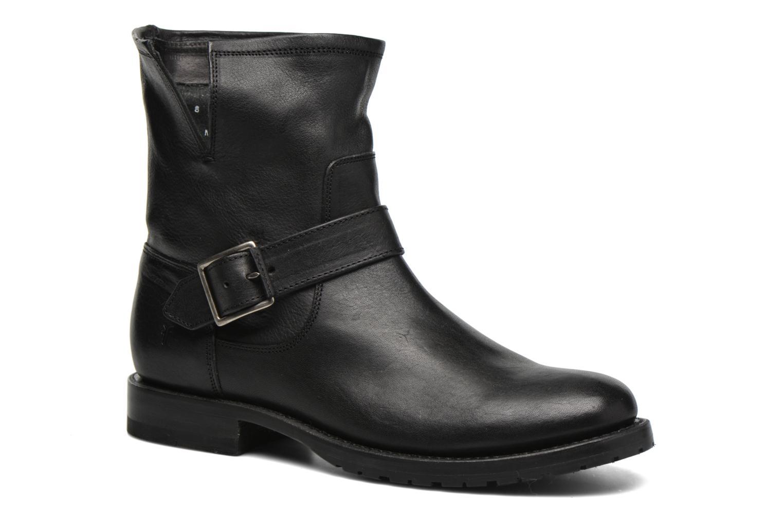 Bottines et boots Frye Natalie Short Engineer Noir vue détail/paire