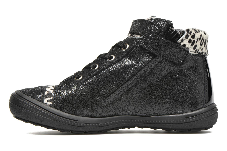Sneaker Catimini Abeille schwarz ansicht von vorne