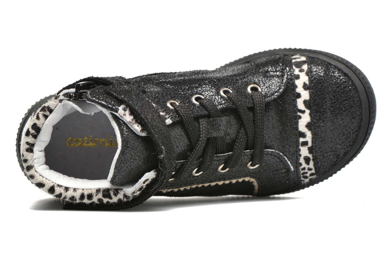 Sneaker Catimini Abeille schwarz ansicht von links