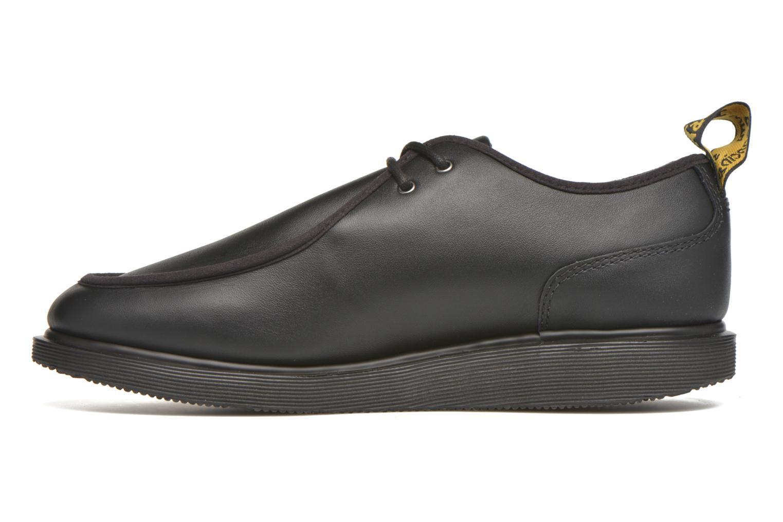 Zapatos con cordones DR. Martens Leverton Negro vista de frente