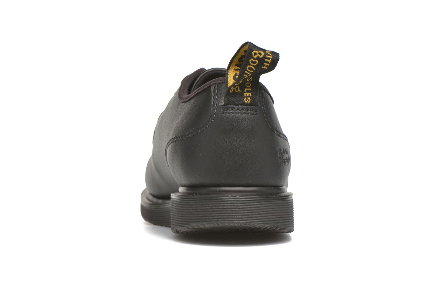 Lace-up shoes DR. Martens Leverton Black view from the right