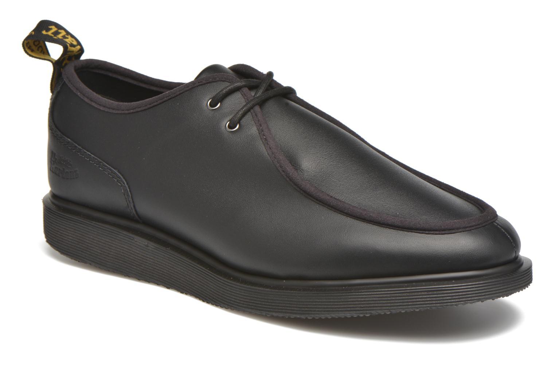 Zapatos con cordones DR. Martens Leverton Negro vista de detalle / par
