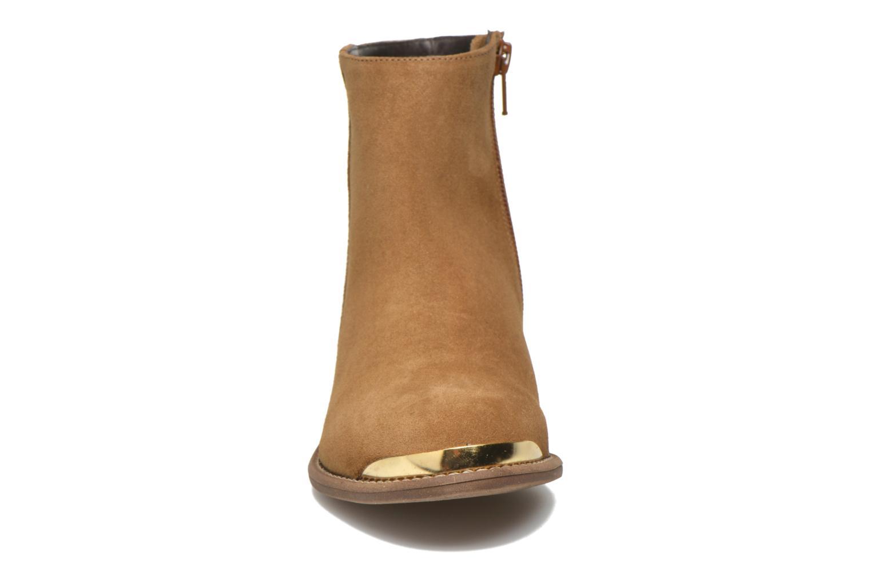 Bottines et boots Yep Fanny Beige vue portées chaussures