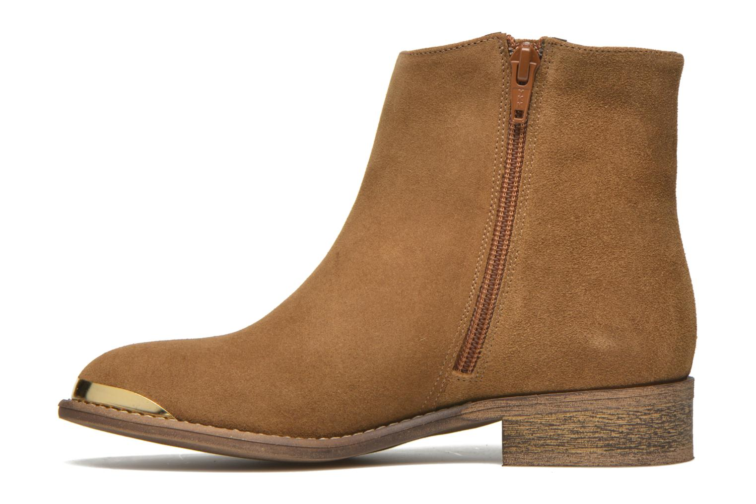 Ankle boots Yep Fanny Beige front view