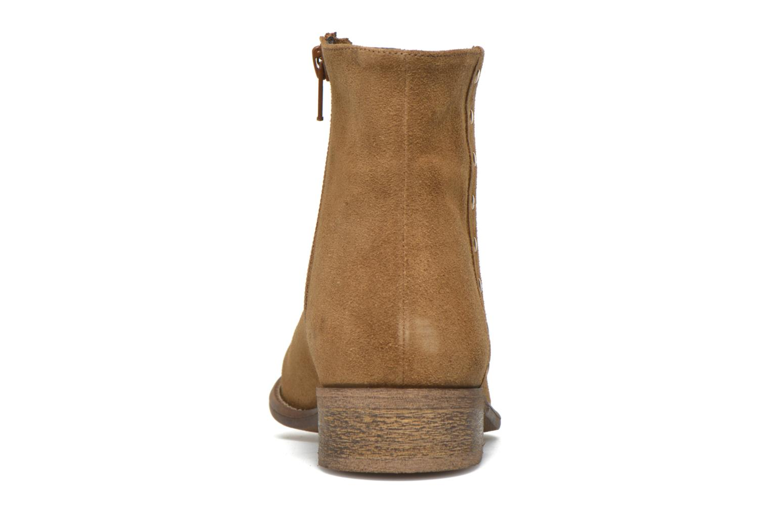 Ankle boots Yep Fanny Beige view from the right