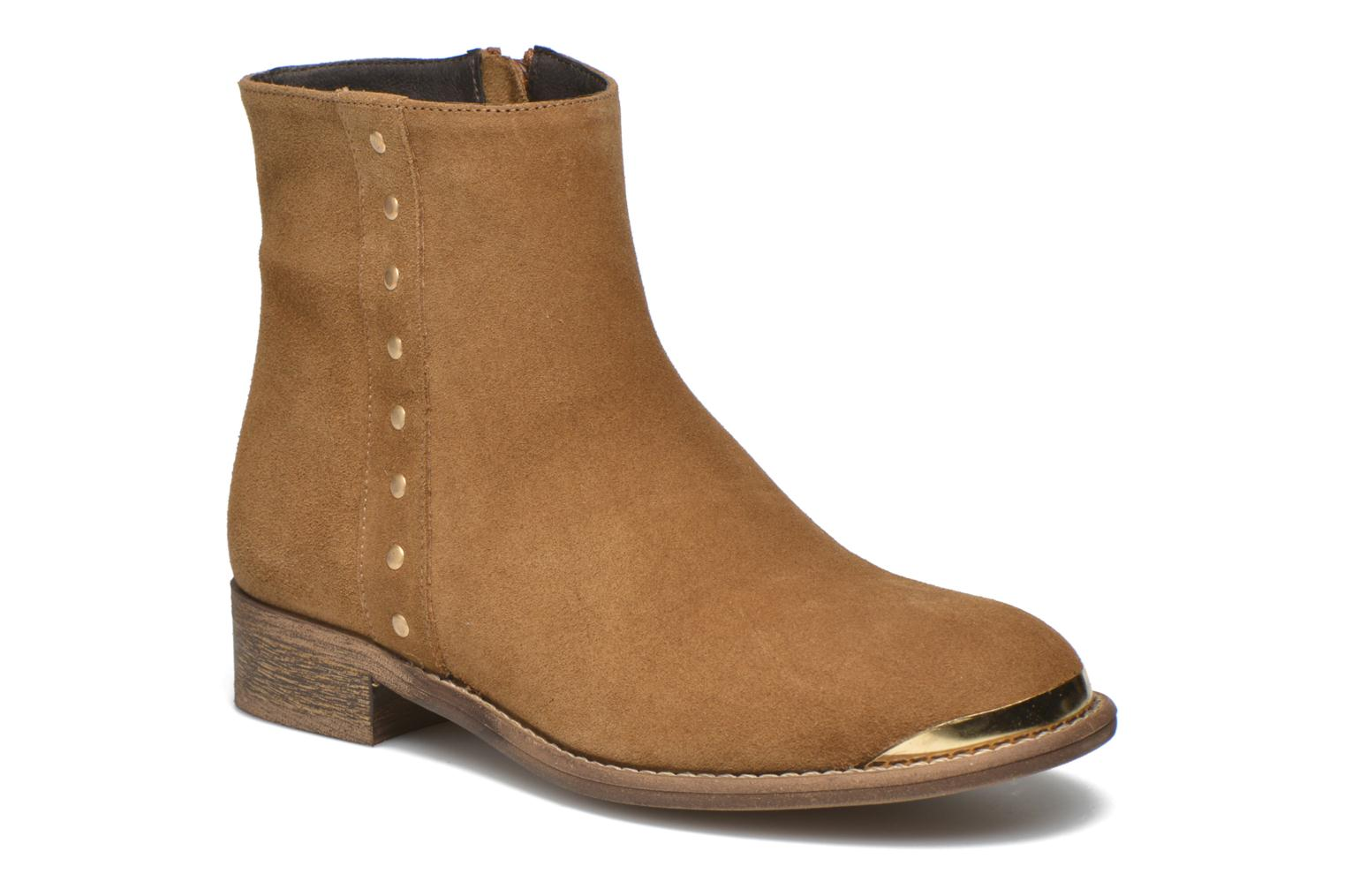 Ankle boots Yep Fanny Beige detailed view/ Pair view