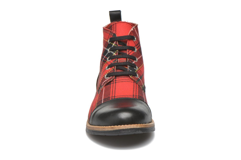 Bottines et boots Yep Jeannette Rouge vue portées chaussures
