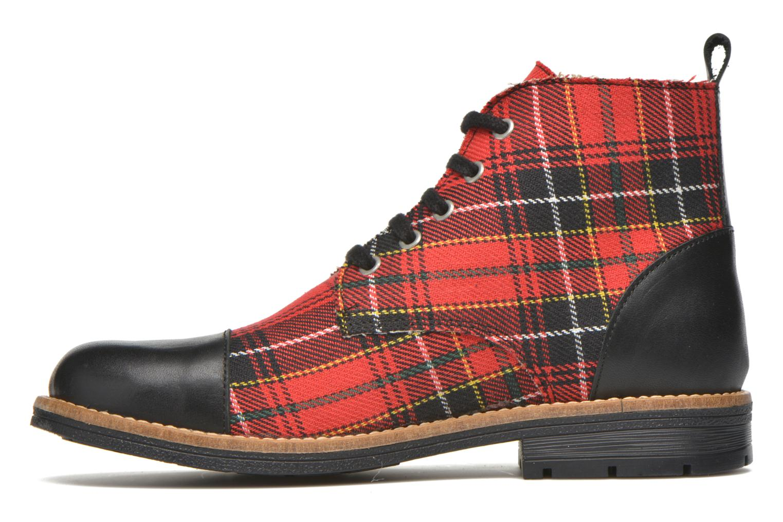 Bottines et boots Yep Jeannette Rouge vue face