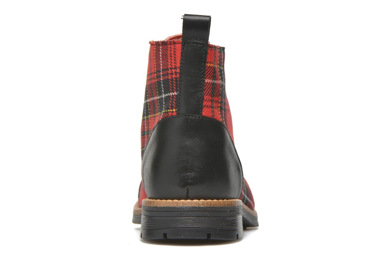 Bottines et boots Yep Jeannette Rouge vue droite