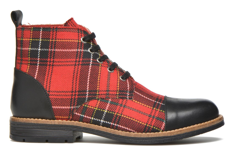 Bottines et boots Yep Jeannette Rouge vue derrière