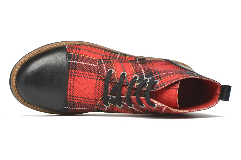 Bottines et boots Yep Jeannette Rouge vue gauche