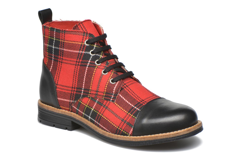 Bottines et boots Yep Jeannette Rouge vue détail/paire