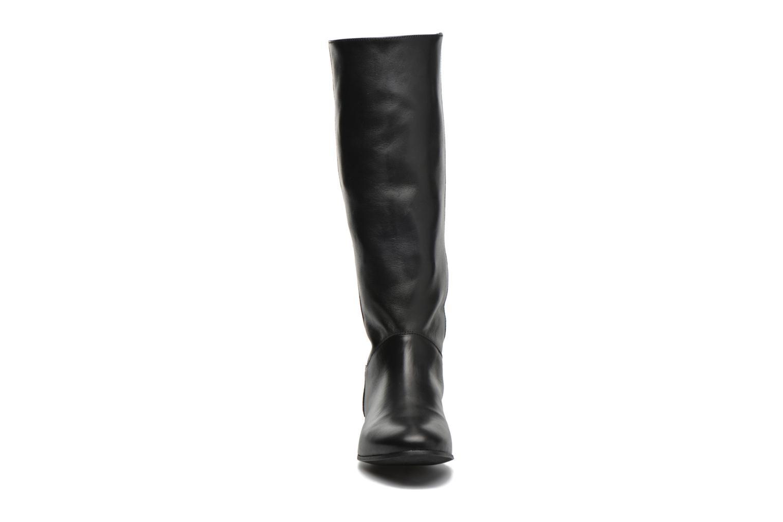 Bottes Minelli Haulme Noir vue portées chaussures