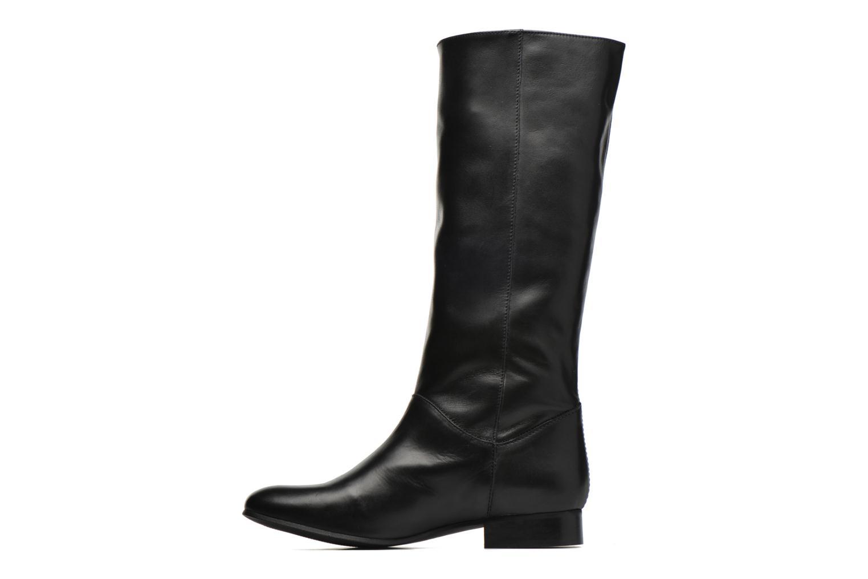 Stiefel Minelli Haulme schwarz ansicht von vorne