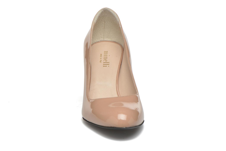 Escarpins Minelli Felny Beige vue portées chaussures