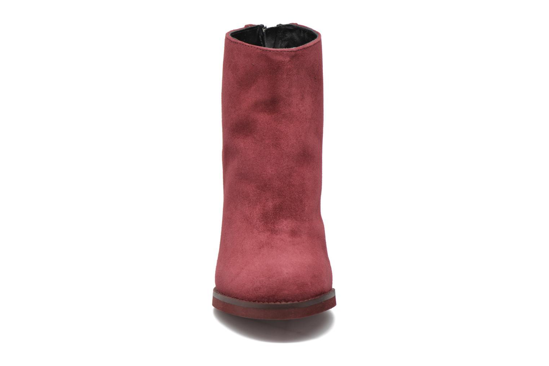 Boots Minelli Orka Vinröd bild av skorna på