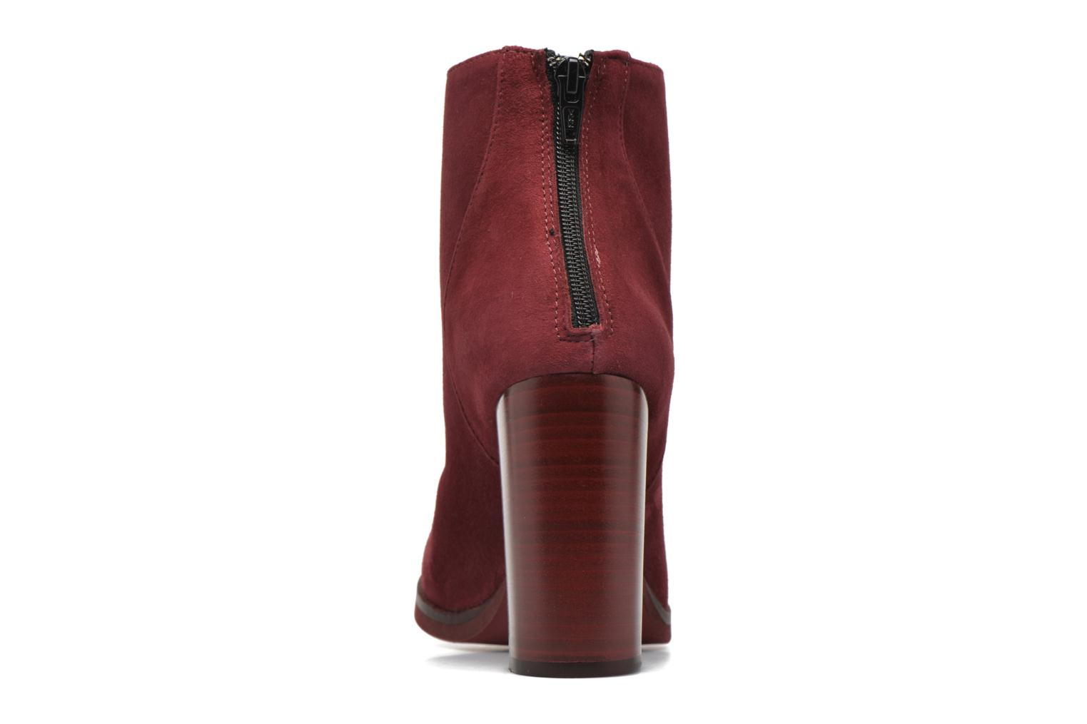 Ankle boots Minelli Orka Burgundy view from the right