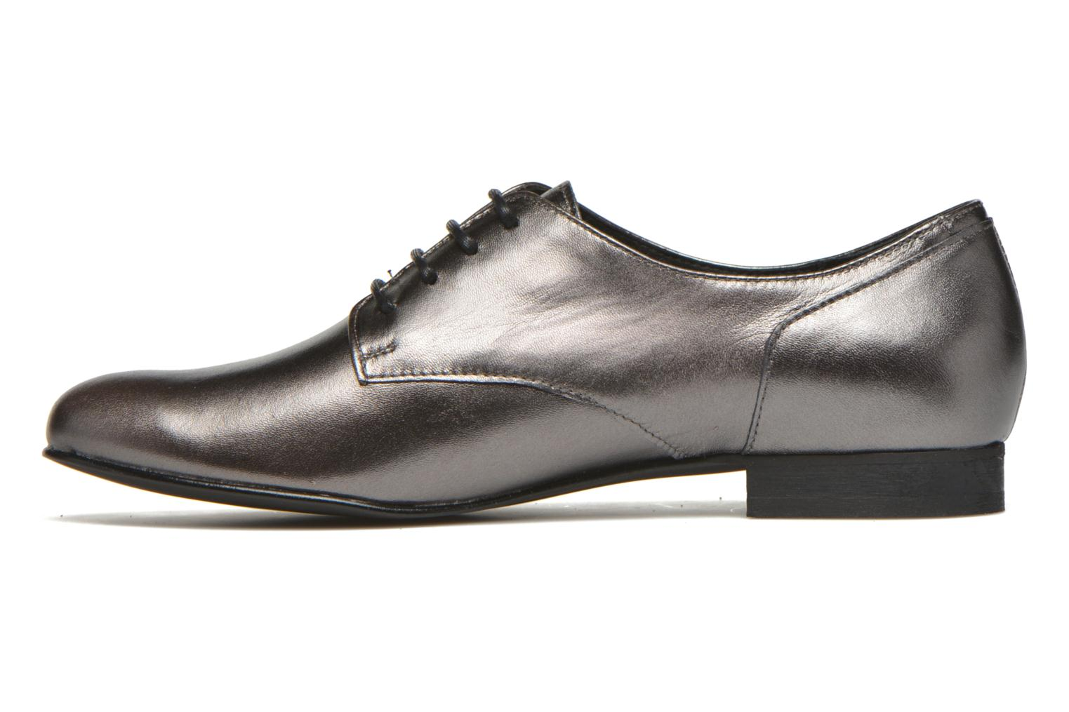 Lace-up shoes Minelli Biby Bronze and Gold front view