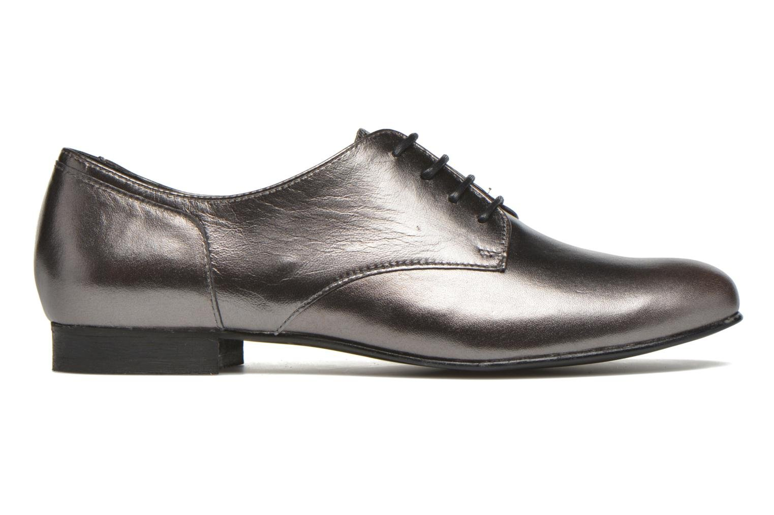 Lace-up shoes Minelli Biby Bronze and Gold back view