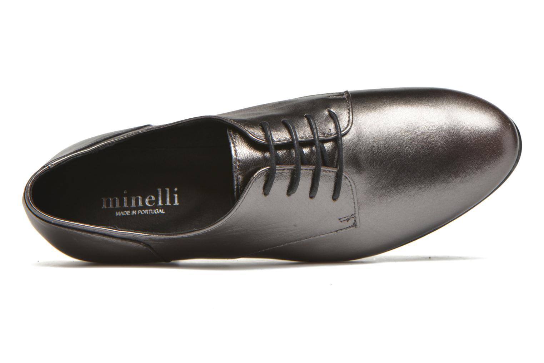 Chaussures à lacets Minelli Biby Or et bronze vue gauche