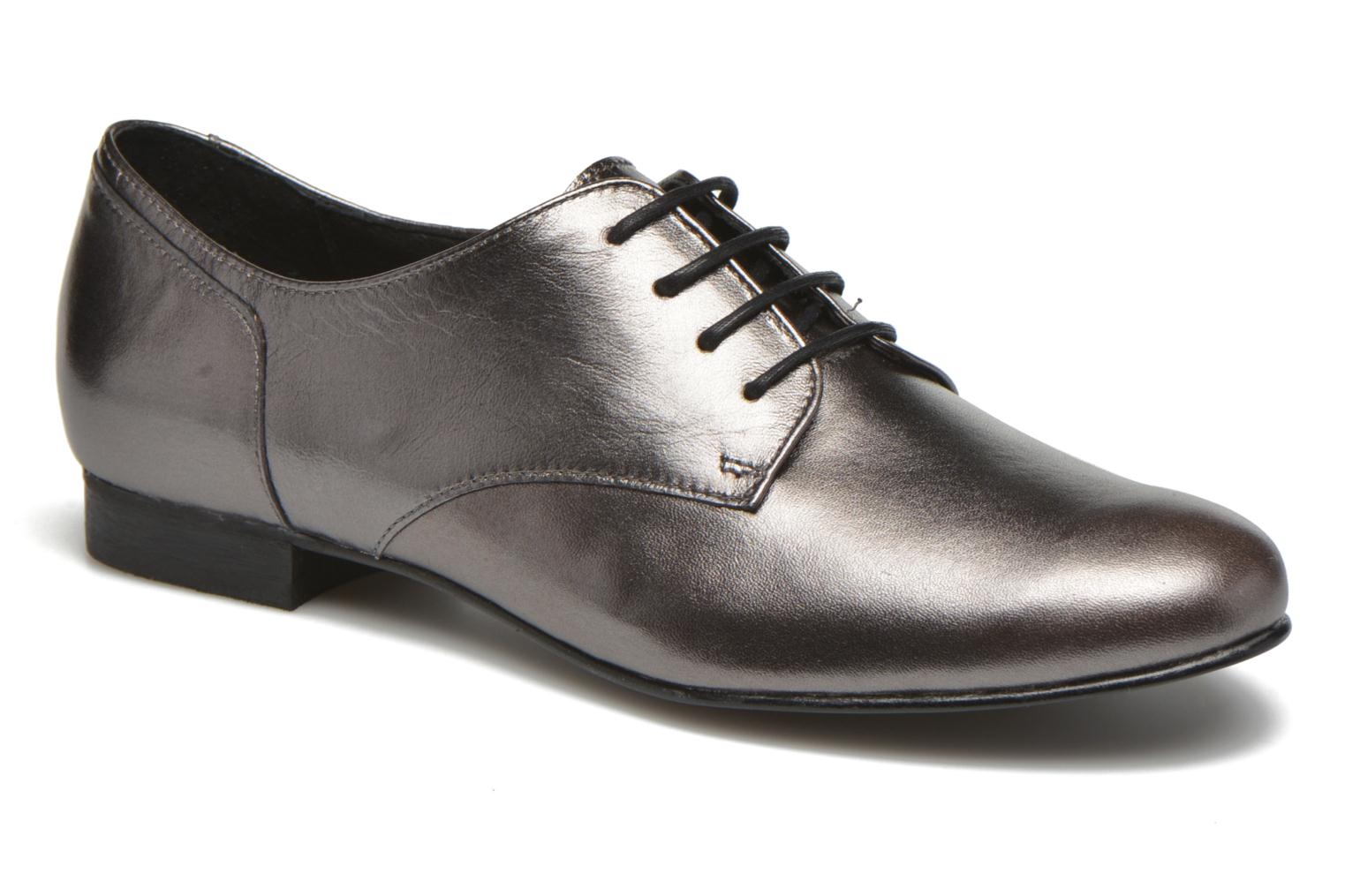 Lace-up shoes Minelli Biby Bronze and Gold detailed view/ Pair view