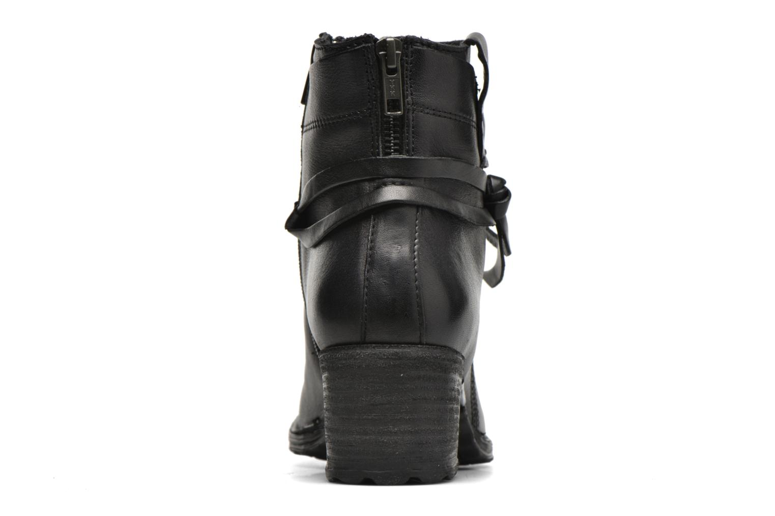 Ankle boots Khrio Oréona Black view from the right
