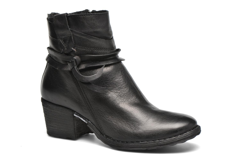 Ankle boots Khrio Oréona Black detailed view/ Pair view