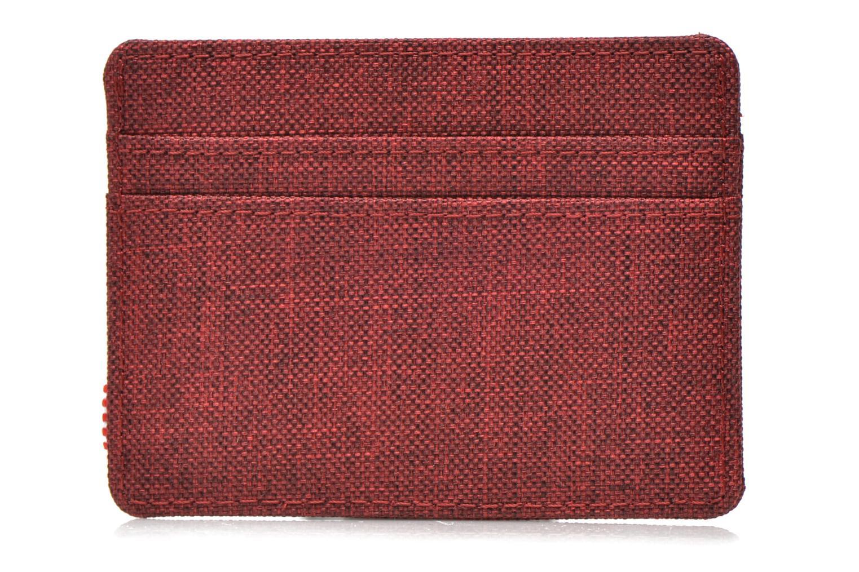 Marroquinería pequeña Herschel CHARLIE Porte-cartes Vino vista de frente