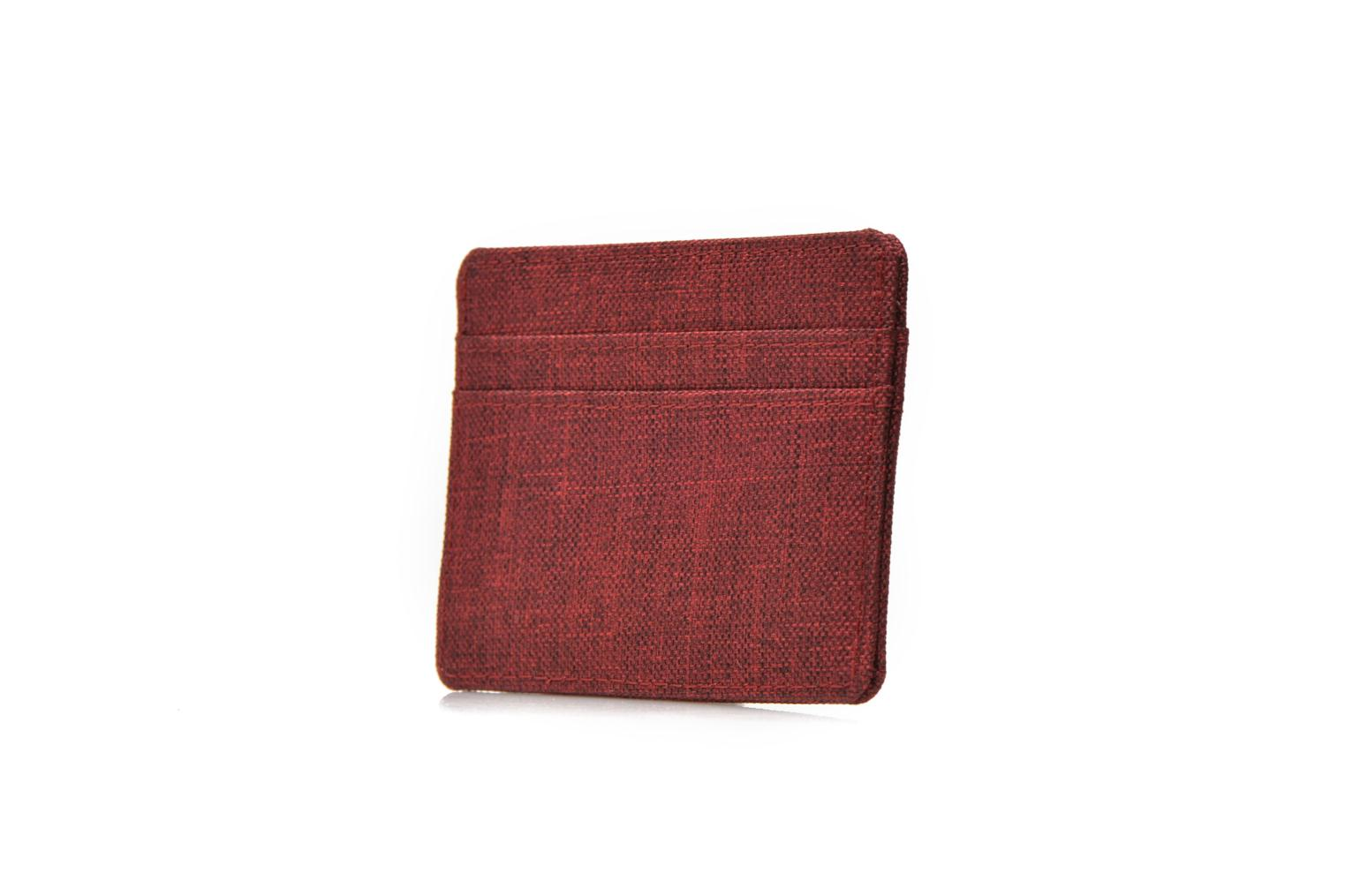 Wallets & cases Herschel CHARLIE Porte-cartes Burgundy view from the right