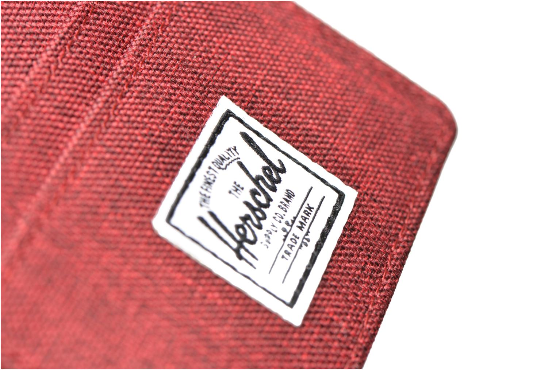 Marroquinería pequeña Herschel CHARLIE Porte-cartes Vino vista lateral izquierda