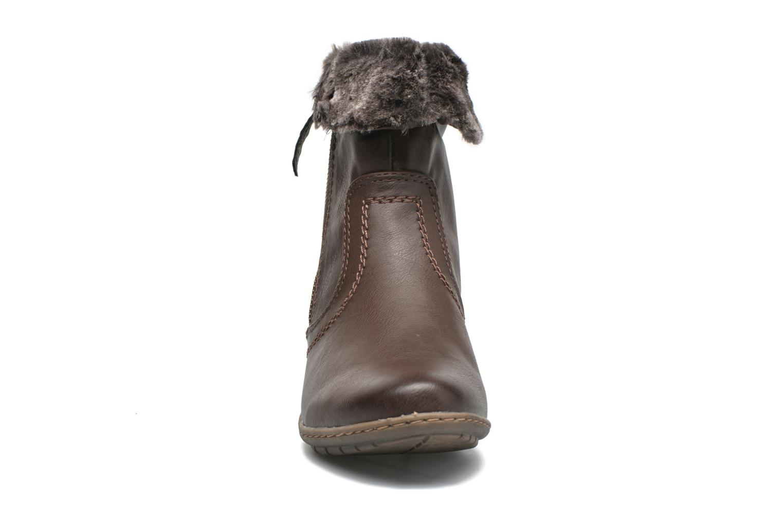 Bottines et boots Hush Puppies INGRID Marron vue portées chaussures