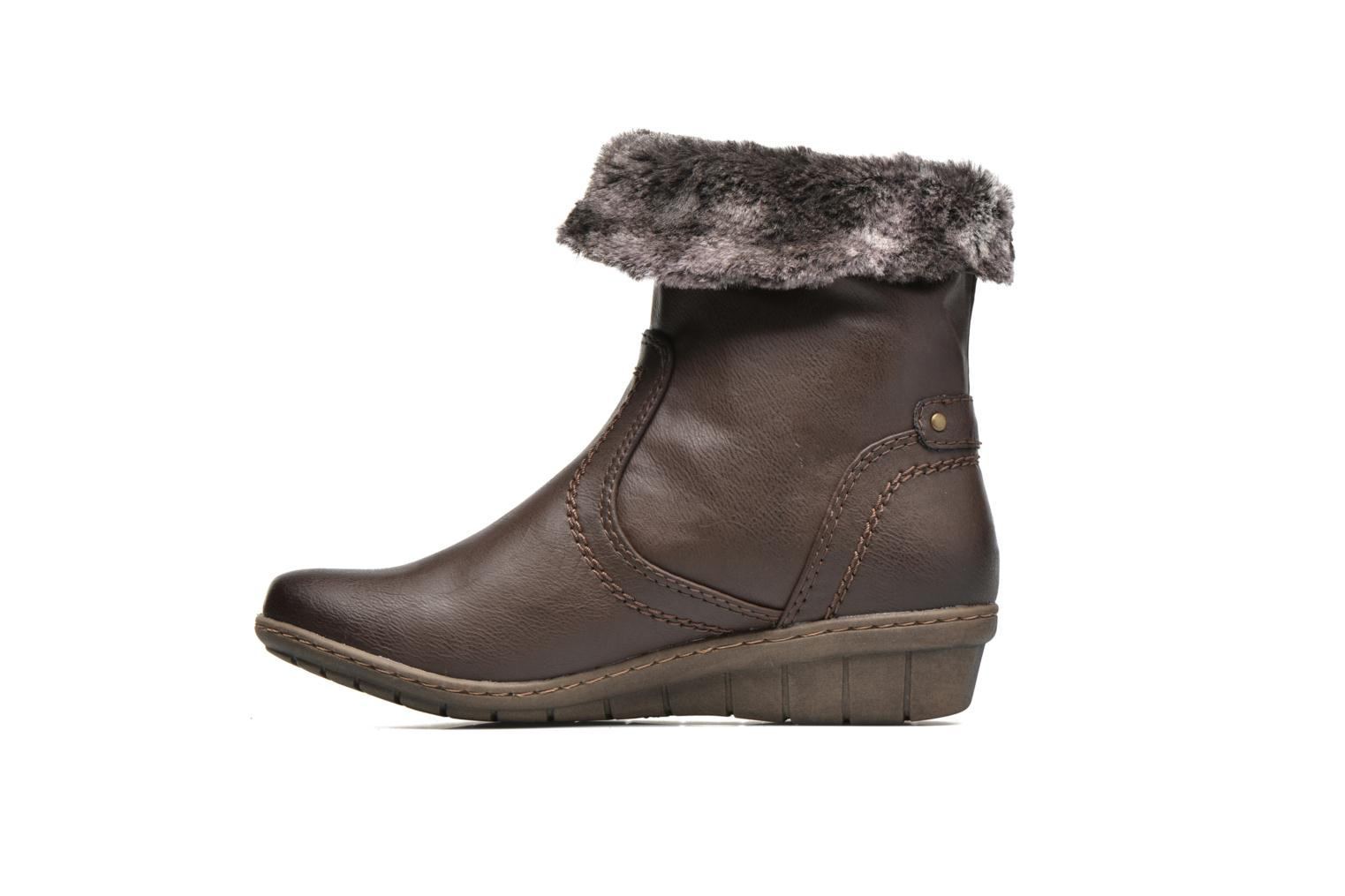 Ankle boots Hush Puppies INGRID Brown front view