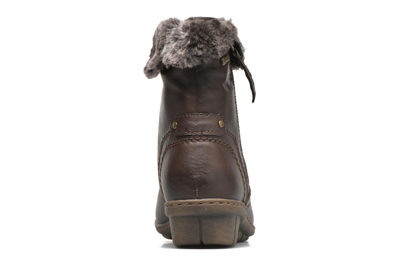 Bottines et boots Hush Puppies INGRID Marron vue droite