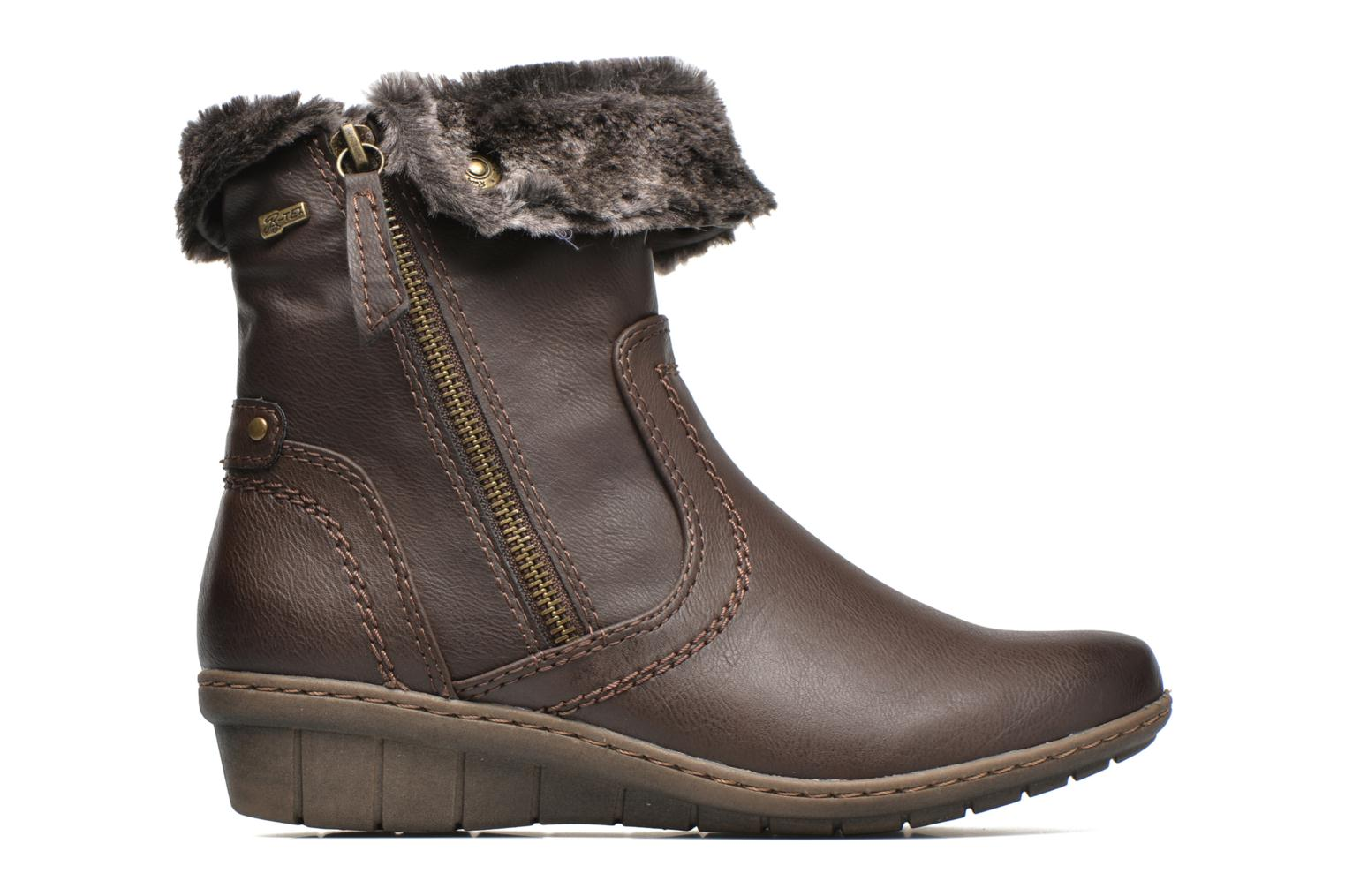 Ankle boots Hush Puppies INGRID Brown back view