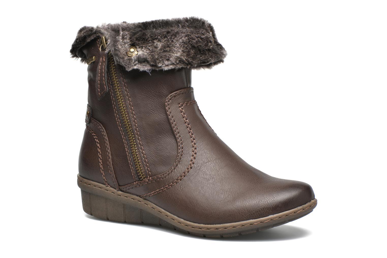 Bottines et boots Hush Puppies INGRID Marron vue détail/paire