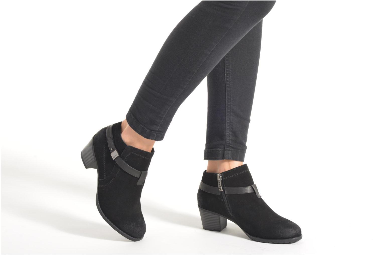 Stiefeletten & Boots Hush Puppies MARIA schwarz ansicht von unten / tasche getragen