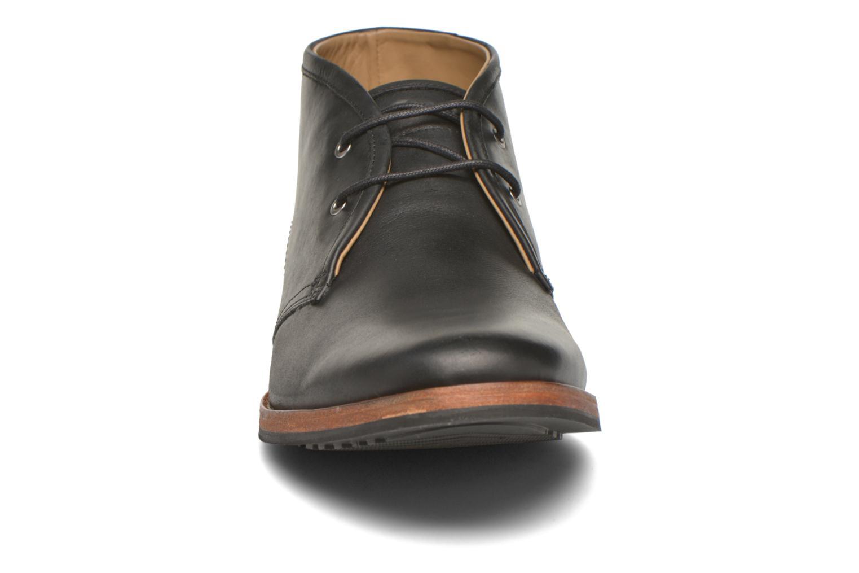 Chaussures à lacets Hush Puppies Kieran Charge Noir vue portées chaussures