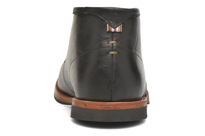 Zapatos con cordones Hush Puppies Kieran Charge Negro vista lateral derecha