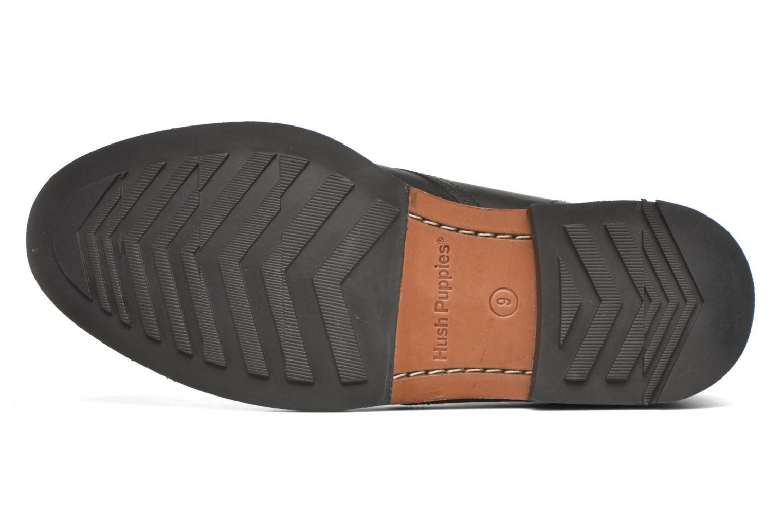 Zapatos con cordones Hush Puppies Kieran Charge Negro vista de arriba
