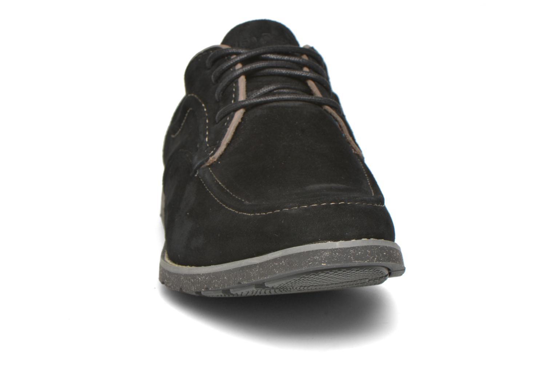 Chaussures à lacets Hush Puppies Hade Jester Noir vue portées chaussures