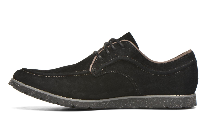 Chaussures à lacets Hush Puppies Hade Jester Noir vue face